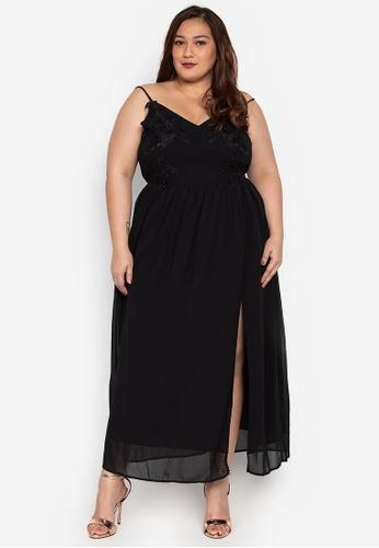 185e8219ef6 Shop Get Laud Plus Maika Maxi Plus Size Dress Online on ZALORA ...