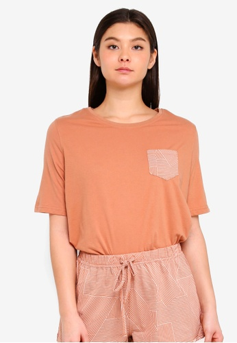 Cotton On Body orange Boxy T-Shirt 12DE0AAB1A8EAFGS_1