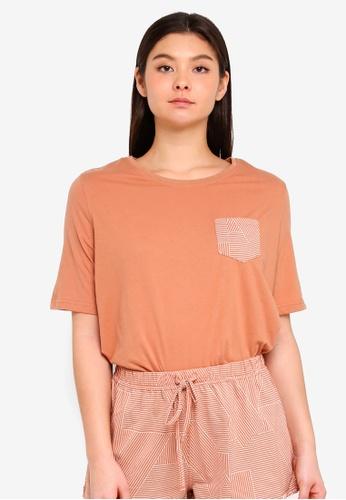 Cotton On Body orange Boxy T-Shirt 12DE0AAB1A8EAFGS_1