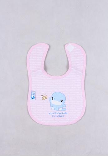 kukuduckbill pink Kuku Duckbill Velcro Bib Ku2222-Pink 9A9BEKCD83D840GS_1
