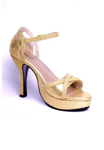 Ohrelle gold Nancy Formal Platform Sandals OH449SH88WXJPH_1