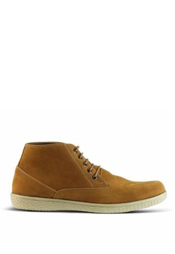 Sogno brown Sepatu Boot Pria GF.7701 CE885SH0521A92GS_1
