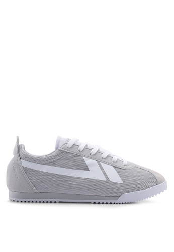 Kolca grey and white 78 Seveneight Sneakers 855A1SHE95F053GS_1