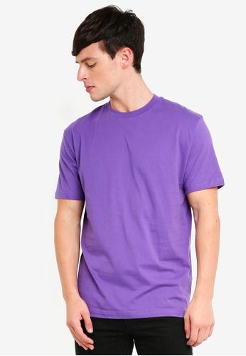 Factorie 紫色 短袖T恤 D8356AAF2CEFA5GS_1