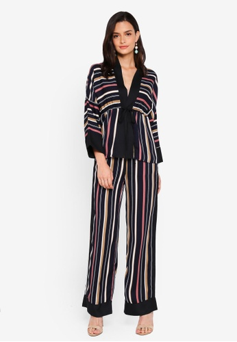 Lubna multi Straight Printed Co-Ord Set 80AB3AA43B0955GS_1
