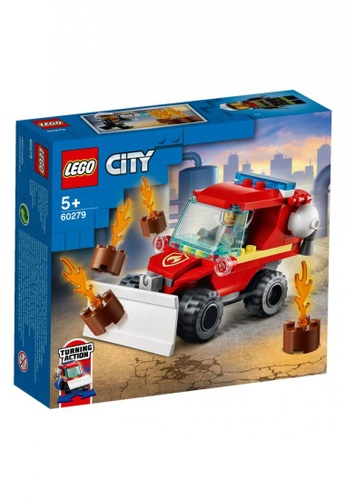 LEGO multi LEGO City Fire 60279 Fire Hazard Truck (87 Pieces) 66C1DTH5037A90GS_1