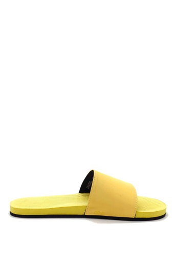 Indosole yellow Indosole Women's ESSNTLS Slides - Pollen 7936FSH4830BD4GS_1