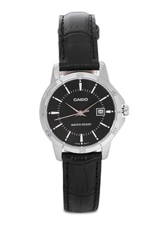 Round Analog Watch LTP-V004L-1A