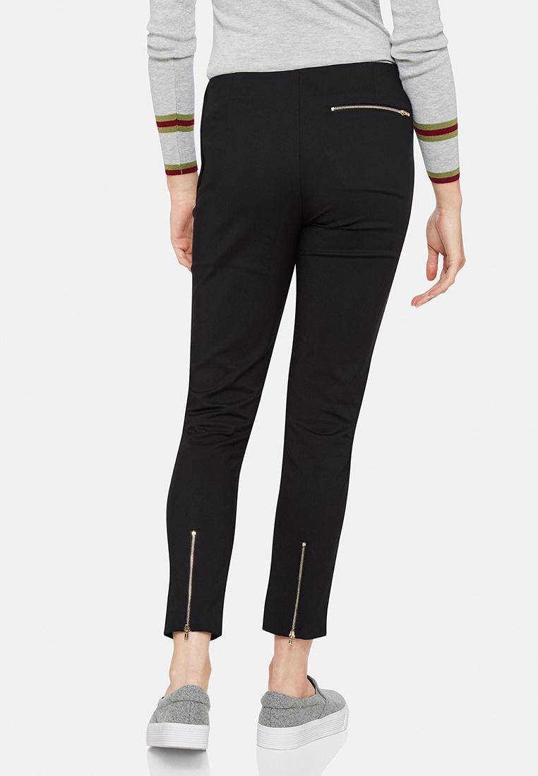 Jackie Black Zipper Crop Oxford Pant Sdw1xS6