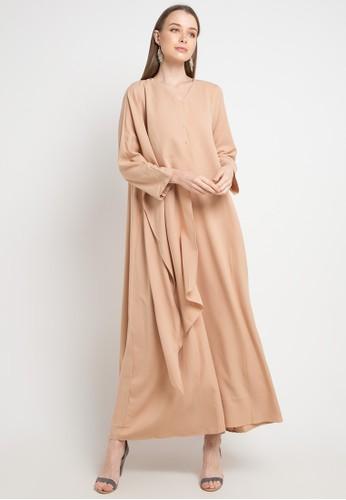Covering Story beige Marra Dress - F 54C03AAB9B6E33GS_1