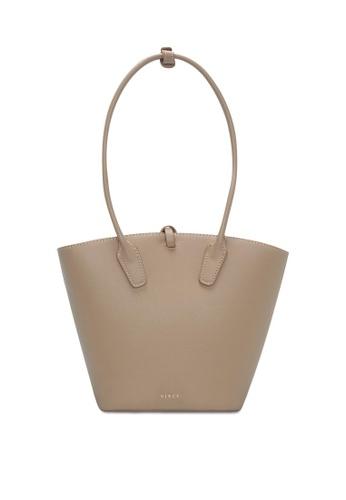 VINCCI brown Tote Bag D6E2DAC04F7B60GS_1