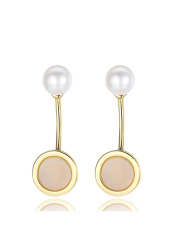 A.Excellence white Premium White Pearl Elegant Earring 97F06AC427E897GS_1