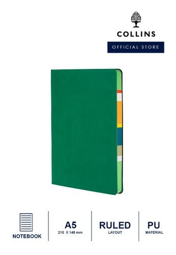 Collins green Collins Edge Mira  ─  Notebook A5 Ruled - Green 0A5E0HLB6E48DBGS_1