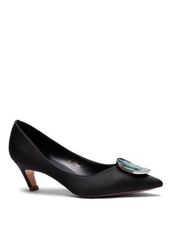 Twenty Eight Shoes 5CM 尖頭綢緞中踭鞋 1886-47 241D1SH1BFD330GS_1