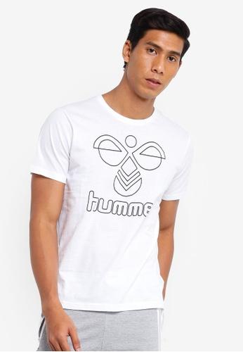 Hummel white Hummel Peter T-Shirt 124EFAA4948A64GS_1