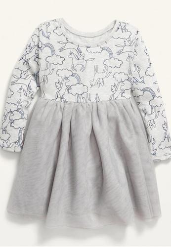 Old Navy grey Toddler Girls Long-Sleeve Tutu Dress 148DDKABCFBDC1GS_1