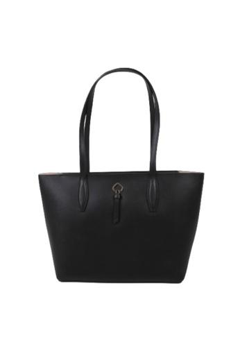 Kate Spade black Kate Spade Small Adel WKRU6709 Tote Bag In Black EF37DAC6CE2C5CGS_1