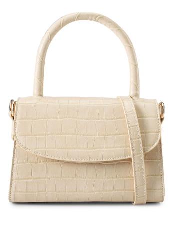 Billini white Liv Shoulder Bag 88B25AC6F3D09DGS_1