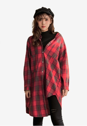 2a31177aeaecfd Shop Tokichoi Double Pockets Checked Shirt Online on ZALORA Philippines
