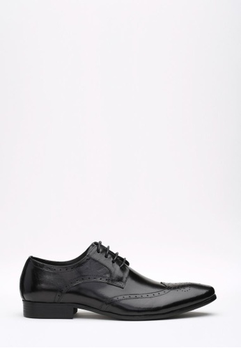 Kings Collection black Windsor Oxford Shoes KI358SH45DGGSG_1