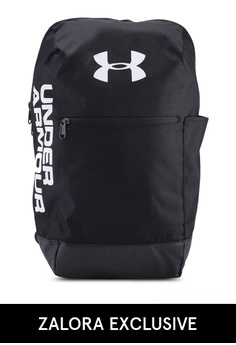 a96b912fa51 Under Armour black UA Patterson Backpack 98F96AC439BBC5GS 1