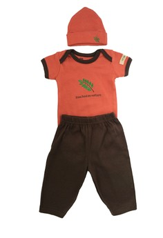 Hudson Baby Baby Infant Clothes Set bodysuits pants and cap