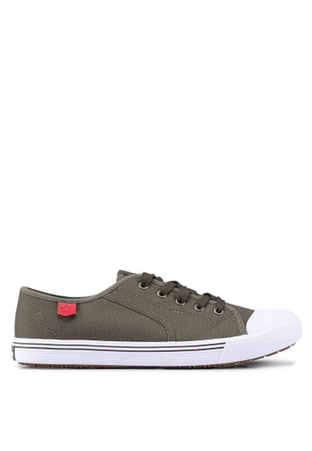 North Star green North Star Classic Sneakers 3B14FSH776FED1GS_1