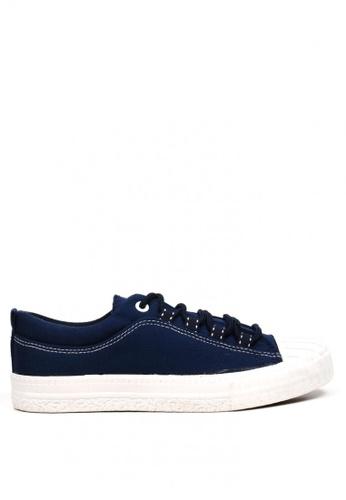 New York Sneakers blue Shenzh Low Cut Shoes 9929 01487SH14B4BBFGS_1