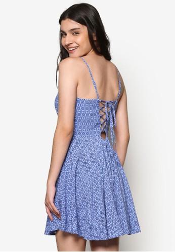 碎花細肩帶洋裝, 服飾,esprit outlet hk 洋裝