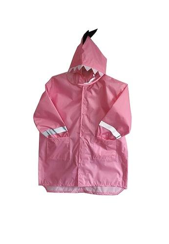 Twenty Eight Shoes pink VANSA  Stylish Dinosaur Raincoat VCK-R1 FD795KAB5EBE14GS_1