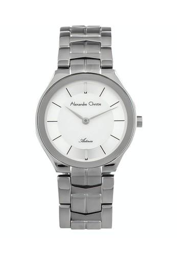 Alexandre Christie silver Alexandre Christie Jam Tangan Wanita - Silver White - Stainless Steel - 8573 LHBSSSL 26B12AC7B6AA1DGS_1