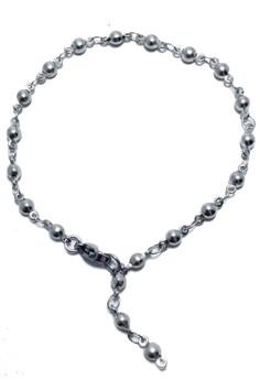 Stainless Steel Bead Chain Y Bracelet