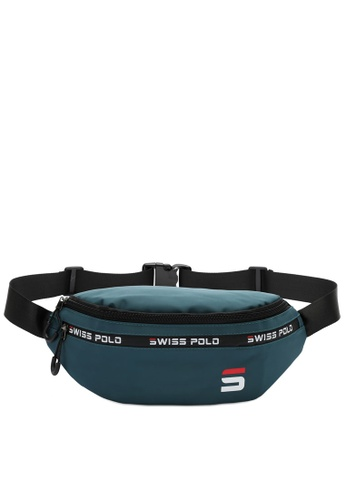 Swiss Polo green Water Proof Waist Bag D3CA9AC4BD555BGS_1