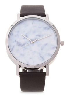 Silverwater Carrara marble watch from Valor