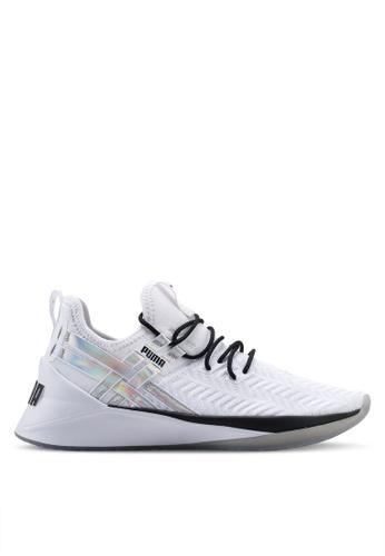 on sale 96c26 6f449 PUMA white Run Train Jaab XT Iridescent TZ Women s Shoes 2EB93SHC529E17GS 1