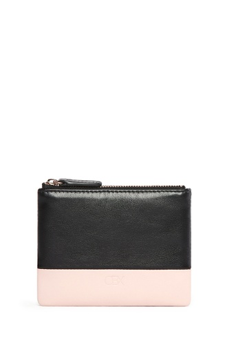 OBX multi Rose/Black Leather Coin Pouch 1BB56AC95FB762GS_1