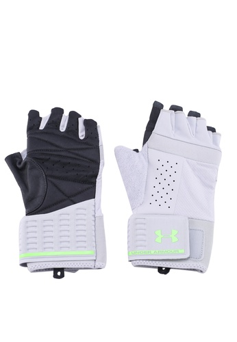 Under Armour grey Men's Weightlifting Glove A9AD9ACC5D458BGS_1