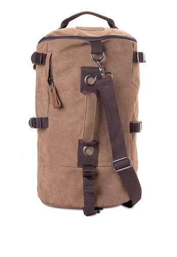 Chase Fashion brown Timmy Canvas Duffle Bag CH547AC40ELVPH_1