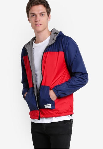 Wrung red Undercover Reversible Jacket WR395AA35PDCMY_1