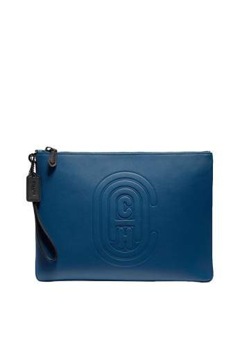 Coach blue Casual Leather Pouch DC59CACC445140GS_1
