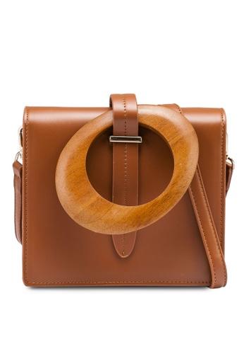 NATALIE & PEPPER brown Aimi Bag 3EBA0AC4033629GS_1