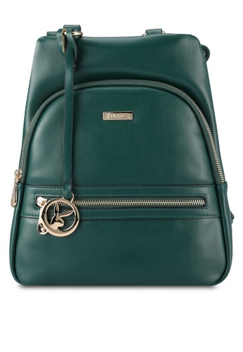 PLAYBOY BUNNY green Casual Backpack PL604AC0RX76MY_1