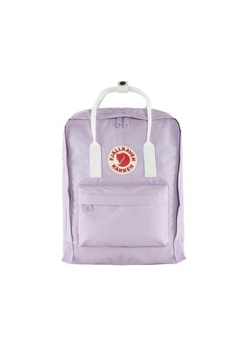 Fjallraven white and purple Fjällräven Kånken Pastel Lavender-Cool White E0014AC0F39062GS_1