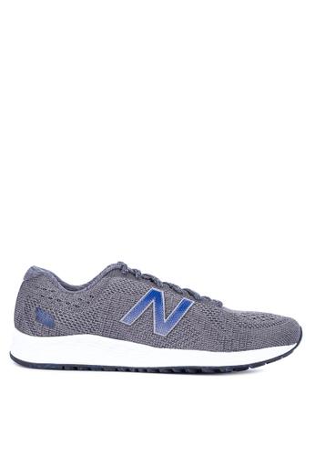 New Balance grey Arishi Fresh Foam Shoes 179F2SHBE5C166GS_1