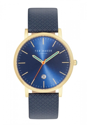 TED BAKER blue and gold Ted Baker OLIVERR Watch - 10031494 TE856AC44KPRSG_1