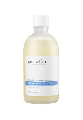 label.m white Aromatica Tea Tree Balancing Toner 130ML 01C52BE7B3A797GS_1