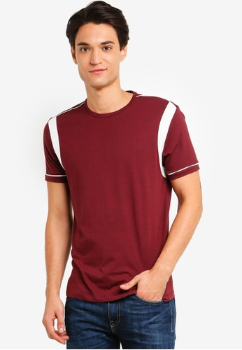 ESPRIT 紅色 Short Sleeve T-Shirt 3AB4EAA78D854DGS_1
