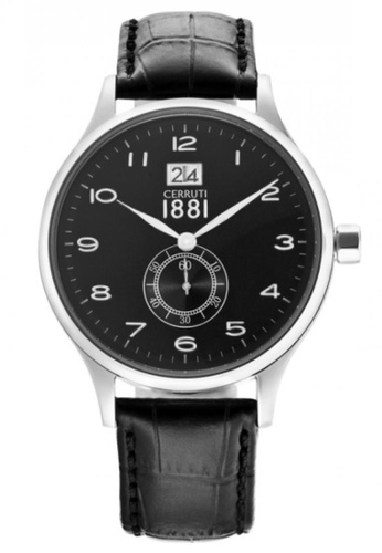 CERRUTI 1881 black Black Strap Men Watch CE514AC84QMTMY_1