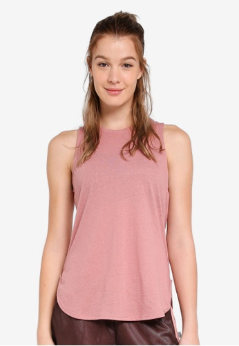 Cotton On Body pink Scooped Flow Tank Top 19B5DAAE65AE29GS_1