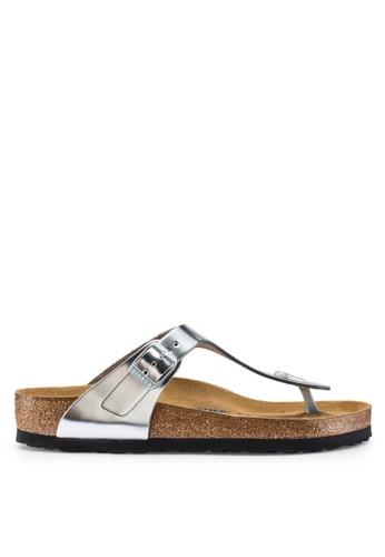 6030dcad218f Shop Birkenstock Gizeh Metallic Sandals Online on ZALORA Philippines